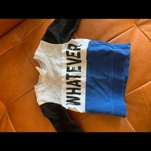Cute sweatshirt for toddler boy